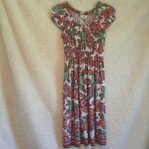 Make Offer! Dressbarn floral stretchy dress